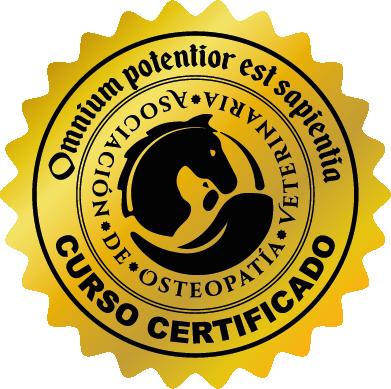 asociación de osteopatía veterinaria certificación oficial
